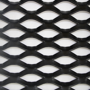 Diamond Expanded Metal Screen Aluminium